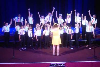 Rotary Club funds Pendle Schools' Festival at the Muni Theatre