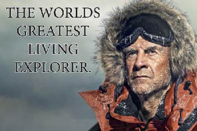 AN AUDIENCE WITH SIR RANULPH FIENNES -THE WORLDS GREATEST LIVING EXPLORER